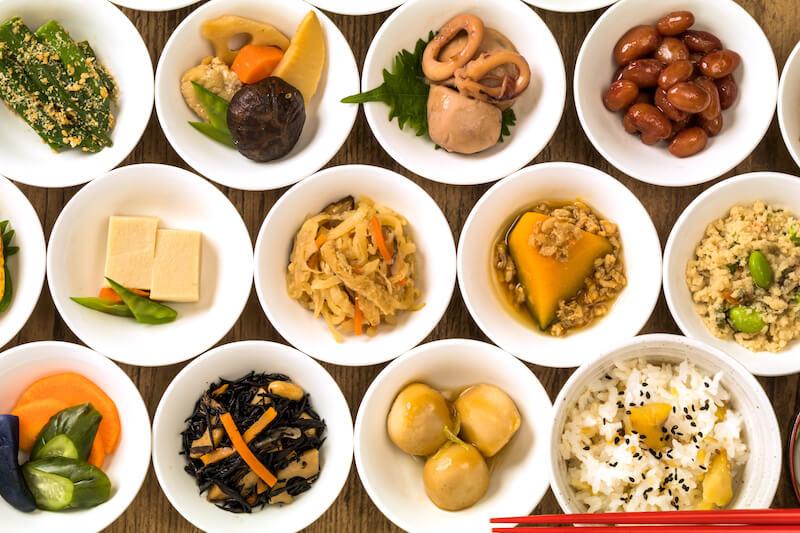 美味しい煮物と惣菜